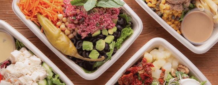 Eine gesunde Ernährung während der Mittagspause soll man nicht vergessen