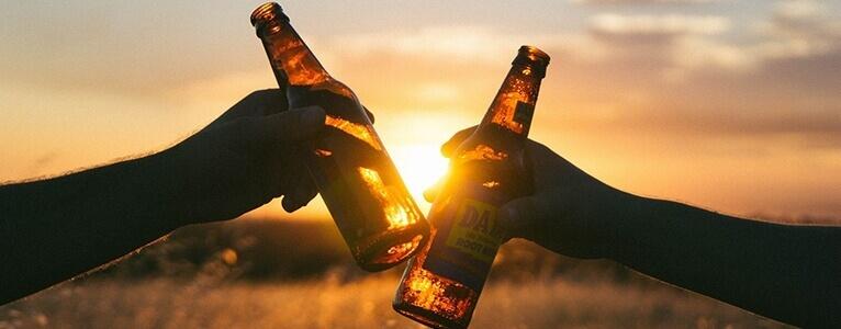 bier draußen
