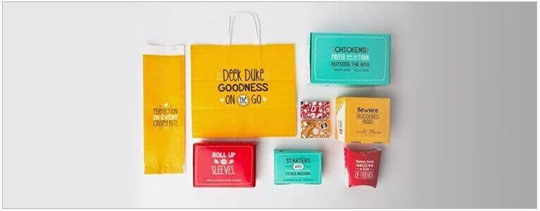 Bright Takeaway Packaging