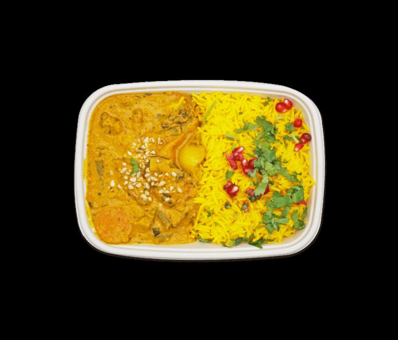 Knackiges Gemüse in Roter Currysoße