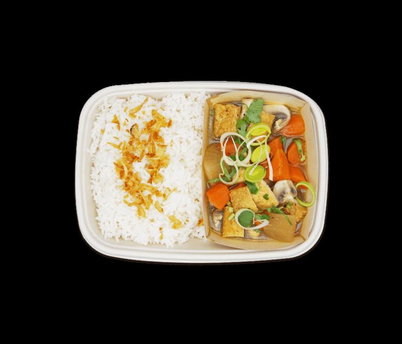 Geschmorter Tofu Eintopf
