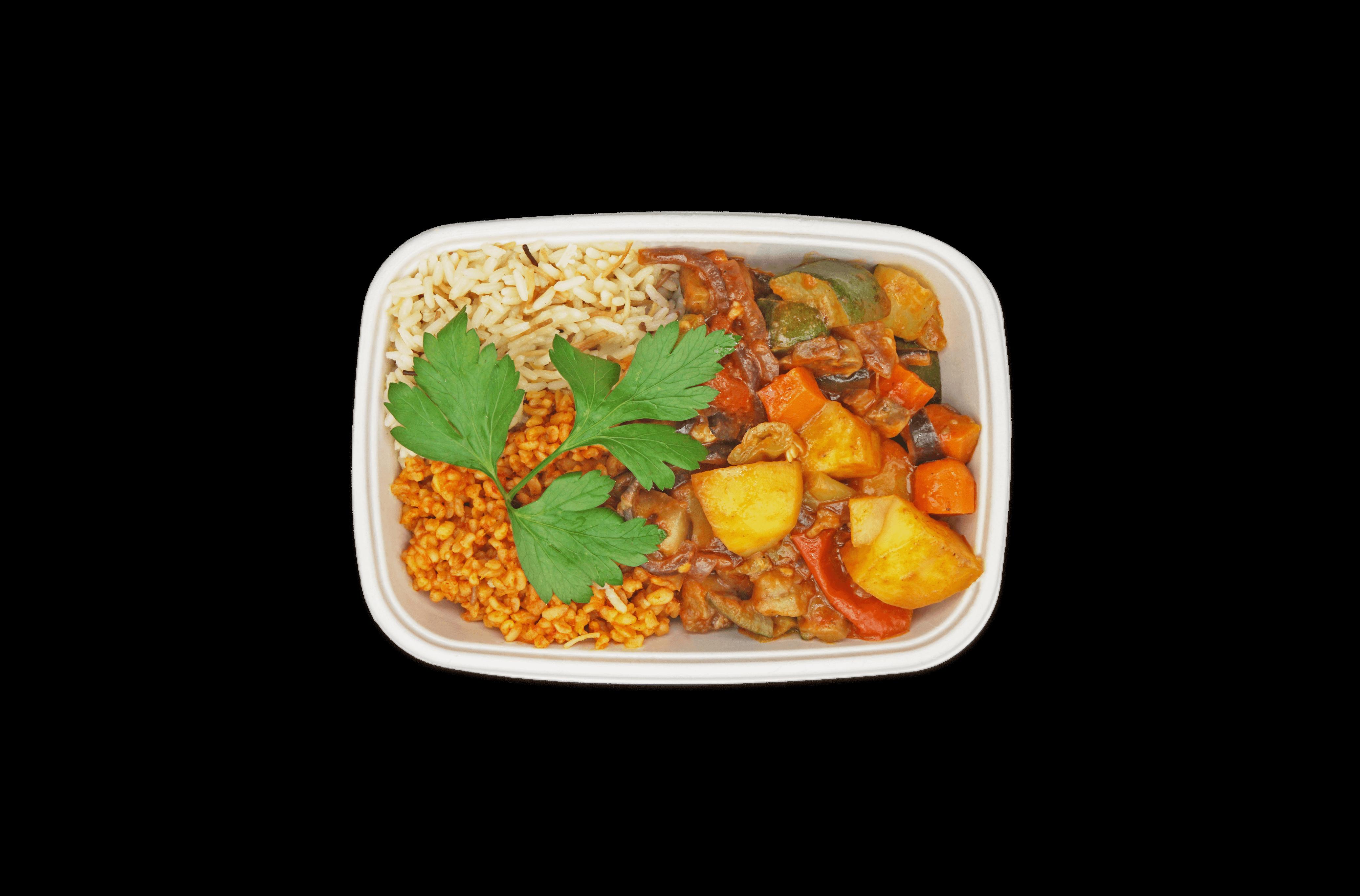 Türkische Kartoffel-Gemüse-Pfanne