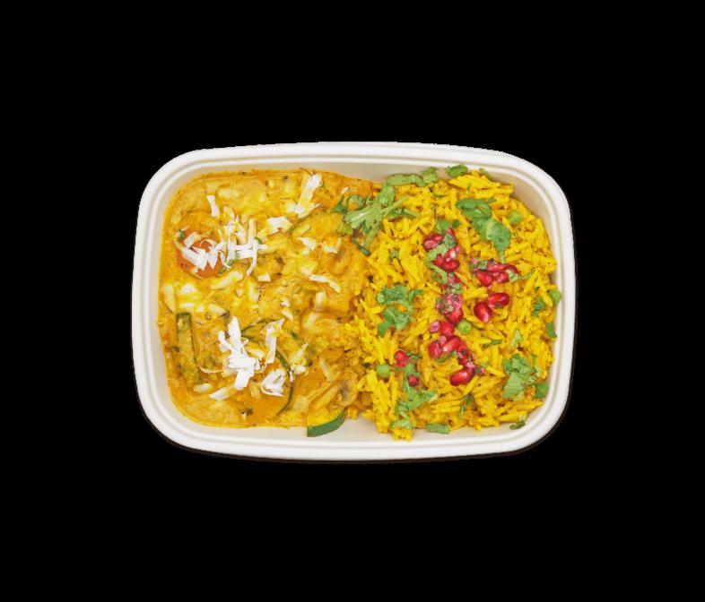 Kokos Gemüse Curry