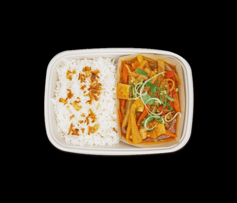 Sweet Tomato Tofu Stew