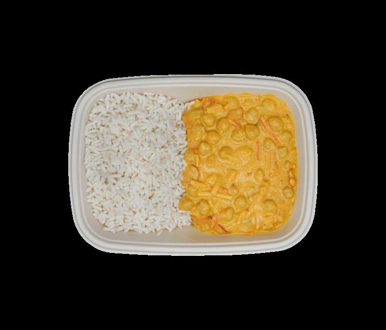Kokos Kichererbs-Curry