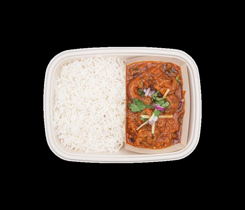 Zartes Lamm im würzigen Tomaten-Curry Rogan Josh